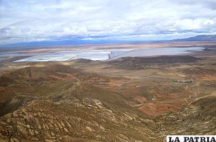 Vista desde la zona de Itos y del área de las operaciones de Inti Raymi
