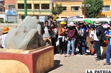 A través del municipio se pretende dar a conocer los lugares turísticos de Oruro /Archivo