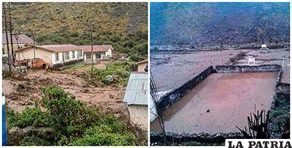 Daños y destrozos causados por la riada /DEFENSA CIVIL
