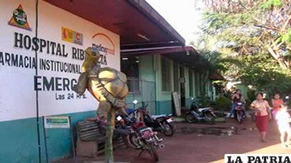 La mujer fue internada en el Hospital de Riberalta, luego falleció