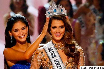 Iris Mittenaere, la nueva Miss Universo /eluniversal.com.mx