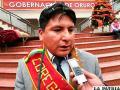 Carlos Gutiérrez asume como nuevo corregidor de Huyña Pasto Grande