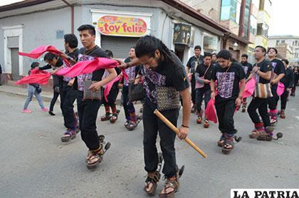 El ritmo del Carnaval de Oruro ya se siente