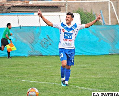Marcelo Gomes fue autor del gol de los