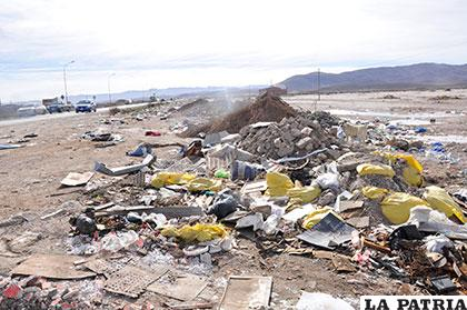 La imagen negativa que la basura deja de la ciudad