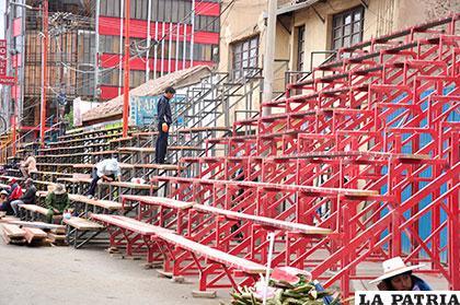 La venta de metros lineales para dueños de casa en la ruta del Carnaval se efectuará hasta el martes venidero