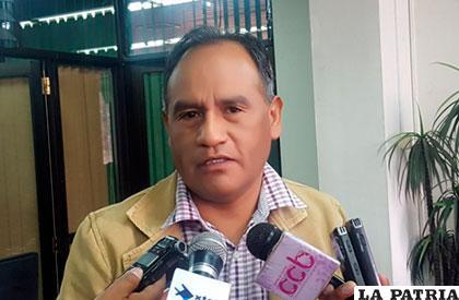 Galo Bonifaz, viceministro de Transportes /ANF