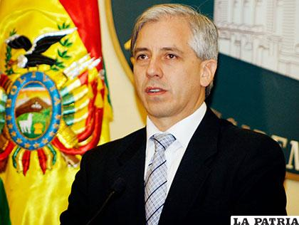 La denuncia fue presentada contra el vicepresidente García Linera /plenglish.com