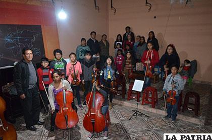 La Orquesta Filarmónica trabaja en grupo y cómodamente