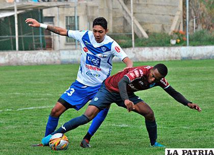 Samuel Galindo y Jaime Arrascaita, volverán a enfrentarse esta tarde en un partido amistoso