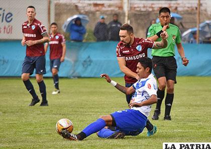Bolívar y San José, el miércoles jugaron un amistoso en La Paz, terminaron empatando 1-1