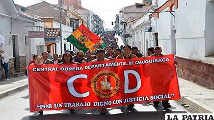 COD de Chuquisaca respalda a Mitma