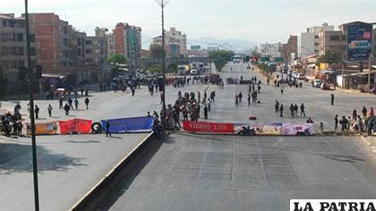 Las movilizaciones en Cochabamba /Internet