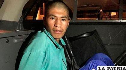 Eliot llegó a Bolivia; alistan imputación por asesinato, feminicidio y violación