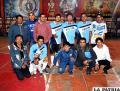 El equipo de plaza, campeón del fútbol de salón