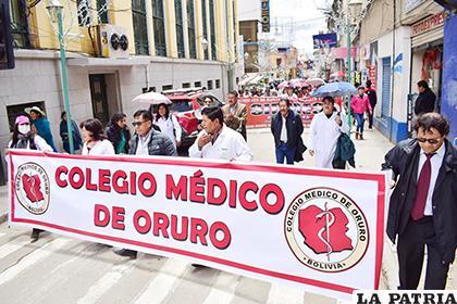Médicos exigen el respeto a su profesión con la implementación del SUS /LA PATRIA