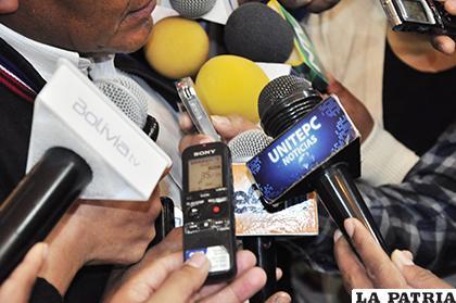Las declaraciones del presidente del TSJ causaron molestia entre los trabajadores de la prensa /LA PATRIA /ARCHIVO