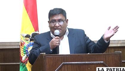 Ministro convoca a militantes del MAS para logística para primarias / LA PATRIA