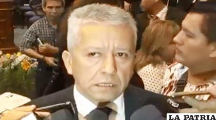 El fiscal Mirael Salguero, da cuenta del informe del IDIF /DETRÁS DE LA VERDAD