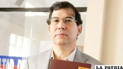 El periodista Raúl Peñaranda /OPINI�?N