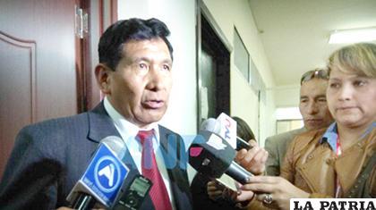 Gonzalo Alcón, presidente del Consejo de la Magistratura /ANF
