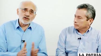 Carlos Mesa y Gustavo Pedraza expresaron su criterio en cuanto a las primarias /RRSS