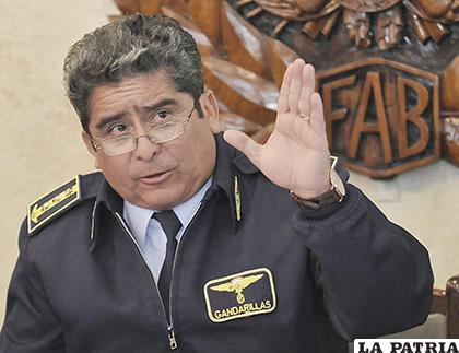 Gandarillas es sospechoso por la adquisición irregular de los helicópteros /APG