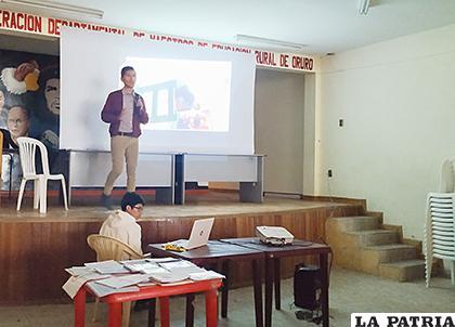 Buena participación tuvo el curso sobre TEA /LA PATRIA
