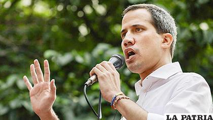 El líder opositor Juan Guaidó /RTVE