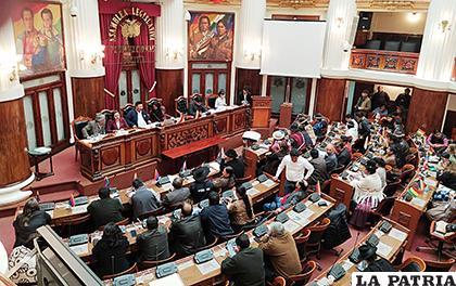 Pleno de la Asamblea Legislativa, el sábado /ERBOL