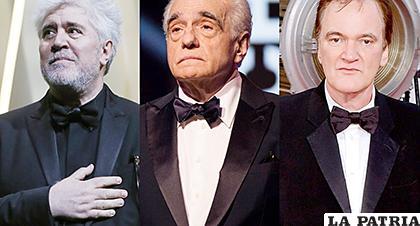 Los tres directores tienen filmes dignos de ganar el máximo premio del cine /EFE