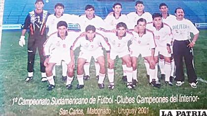 Uno de los defensores más connotados del fútbol boliviano
