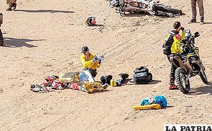 El Dakar pierde a uno de sus animadores más queridos /mediotiempo.com