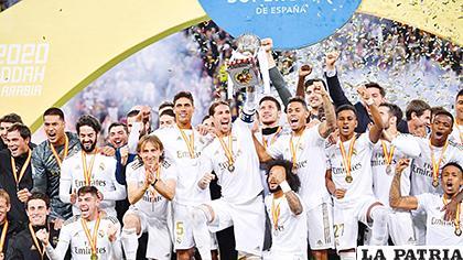 El Real Madrid se queda con el derbi jugado en Yeda /media.com