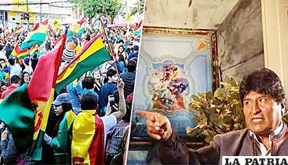 Evo Morales advirtió al pueblo boliviano con sus polémicas declaraciones /BBC