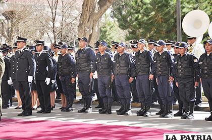 La Guardia Municipal busca reforzarse para el Carnaval /LA PATRIA /ARCHIVO