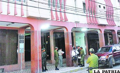 El operativo violento y confuso ocurrió en el hotel Las Américas el 16 de abril de 2009 /Página Siete
