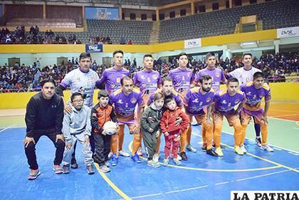 Agua Santa será el único equipo orureño en la fase final de la Dimafusa /Reynaldo Bellota /LA PATRIA