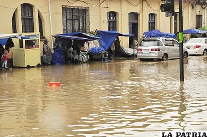 Las lluvias son persistentes en esta época del año /LA PATRIA /ARCHIVO