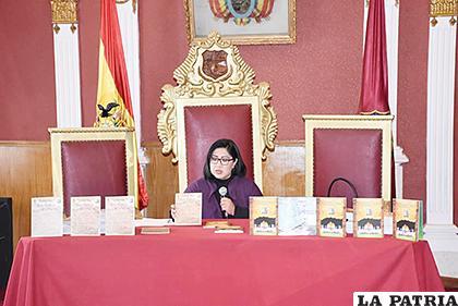 Secretaria de Cultura muestra características de los textos /GAMO
