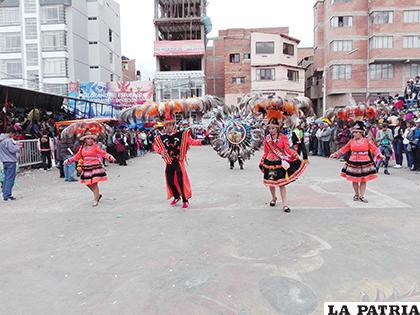 Suri UTO, 34 años siendo parte del Carnaval de Oruro /Suri UTO