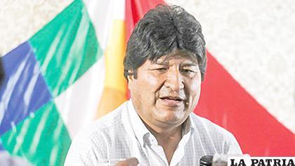 Evo dijo que organizará milicias en el país en el caso de que retorne /CORREO DEL SUR