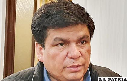 El senador del MAS, Omar Aguilar /ERBOL