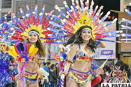 Hermosas figuras en el recorrido de los Tobas Zona Sud /Mario Atahui-chi/Crónicas del Carnaval de Oruro