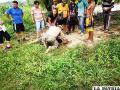 Navales rescatan a dos adolescentes en el río Bermejo