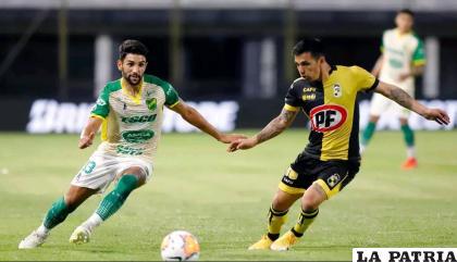 La acción del partido que finalizó empatado, el sábado volverán a jugar /france24.com