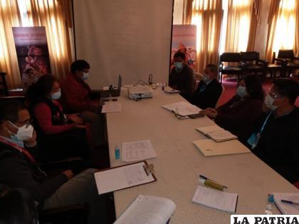 Durante la reunión de coordinación que se realizó en la Gobernación /LA PATRIA