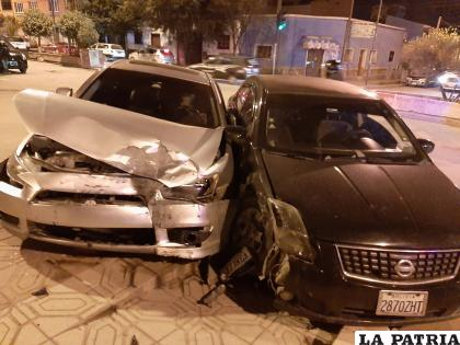La colisión se debió presuntamente al estado alcohólico en el que manejaban los conductores  /LA PATRIA