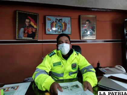 Los datos del caso fueron brindados por el director de Tránsito coronel Rodríguez /LA PATRIA