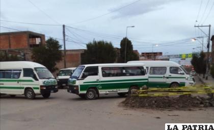 El transporte de Oruro aseguró que aún se debe analizar a detalle la propuesta del Gobierno /LA PATRIA